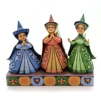 Jim Shore ROYAL GUESTS Polyresin Three Fairies Disney 4059734