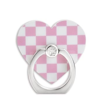 Pink Checkered Phone Ring