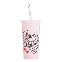 Ban.Do Sip Sip Tumbler with Straw- Love Potion
