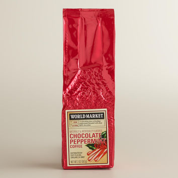 World Market Chocolate Peppermint Coffee 2oz, Set of 12