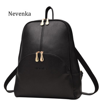 Nevenka Leather Backpack