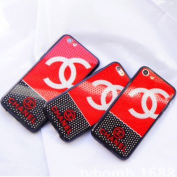 Supreme & LV & Victoria's Secret & Fendi & Chanel iPhone x Diamond Phone Case F0220-1 Chanel