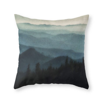 Society6 Foothills Throw Pillow