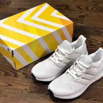 Adidas Ultra Boost UB4.0 white Size:36-45