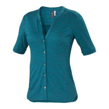 Women's Ibex OD Noe Shirt Scuba Heather | Overstock.com Shopping - The Best Deals on Juniors' Tops