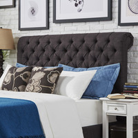 Kingstown Home Carthusia Queen Upholstered Headboard