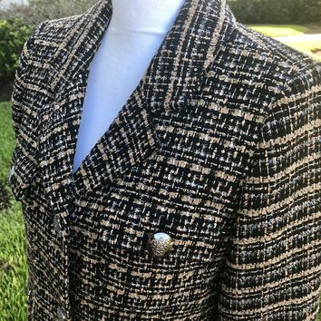 JOAN RIVERS Women's Two Button Suit Jacket Blazer, Size 12
