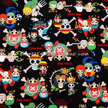 140*50cm1pc100%Cotton Fabric Skull Piece Print DIY Tissue Patchwork Tela Felt Sewing For Baby/Lady Clothes Quilting Plain Tecido