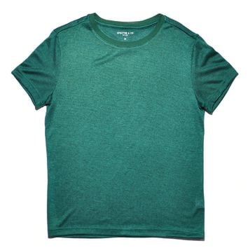 Green Knit Tee Shirt