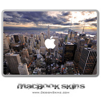 "NYC Skyline MacBook Skin Design 11"", 13"" or 15"""