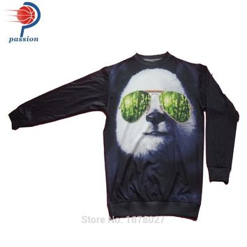 Ladie's Sweater Custom Sublimated Sweatshirt