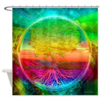 Radiance Shower Curtain> Shower Curtains> The Tree of Life Shop