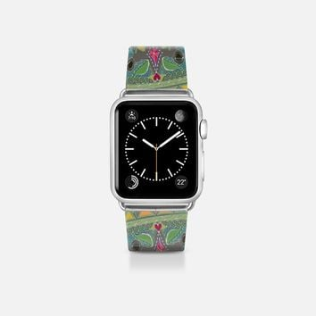 painted elephant transparent apple watch band Apple Watch Band (38mm)  by Sharon Turner | Casetify