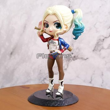 Q Posket Petit DC Comics Suicide Squad Harley Quinn Q Version PVC Figure Collectible Model Toy 14cm