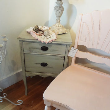 Vintage Shabby Chic Sewing Table