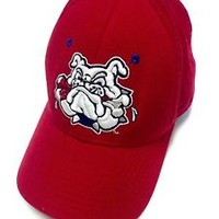 Fresno State Bulldogs Zephyr Red Hat Cap Mens Fitted Size 6 3/4 Wool Acrylic