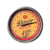 Outdoor Thermometer Shiner Bock
