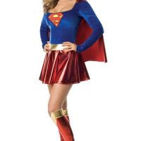 Supergirl Clothing Sexy Superhero Costume Halloween Costumes For Women Adult Carnival Costume Superman Cosplay High Quality