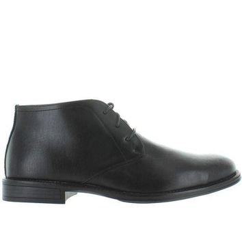 Deer Stags Mean   Waterproof Black Leather Chukka Boot