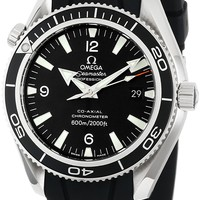 Omega Men's 2901.50.91 Seamaster Black Dial Watch