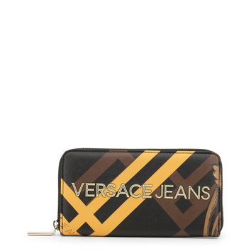 Versace Jeans Brown Synthetic Leather Purse