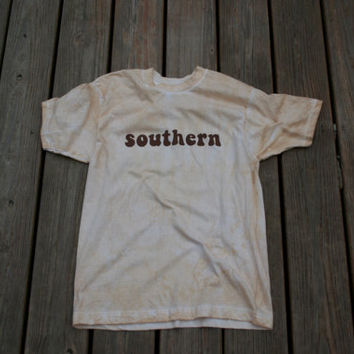 Southern Shirt  DIRTY SOUTH Tshirt Company  by PamelaJoyceDesigns