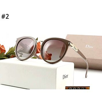 Dior 2019 new polarized female models driving personality sunglasses #2