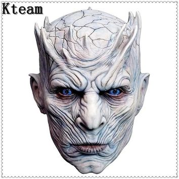 Adult Scary Latex Game of Thrones Night King Party Masks Cosplay Full Walker Face Halloween Mask Zombie Movie Costume Mask Props