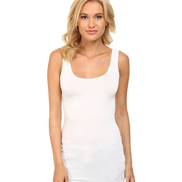 Three Dots Lightweight Viscose Long Fitted Tank