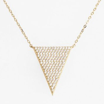 Women's Nadri 'Geo' Pendant Necklace