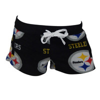 Pittsburgh Steelers Highlight Mircofleece Shorts