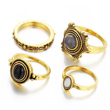 Vintage 4 piece joint ring