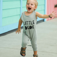 Little Dude Toddler Romper