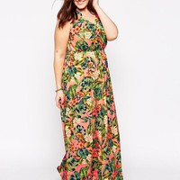 Junarose | Junarose Silke Printed Maxi Dress at ASOS