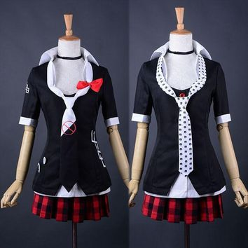 Cool Danganronpa Cosplay Dangan Ronpa Junko Enoshima Emboitement Inushio Kimuchi Symbol Mark Sign Trigger Happy Havoc Cosplay CostumeAT_93_12