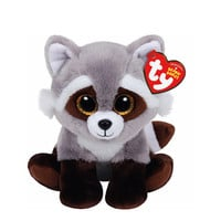 Ty Beanie Boos Small Bandit the Raccoon Plush Toy
