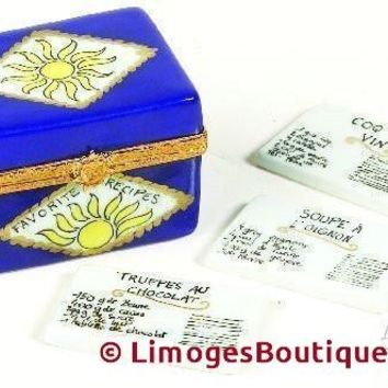 Recipe Box Limoges Boxes