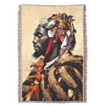 Santo Darcaguey Tapestry/ Throw