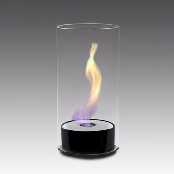 Eco-Feu Juliette Table Top Ethanol Fireplace - Gloss Black (TT-00101-GB)