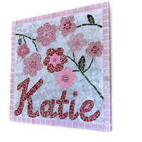 Custom Mosaic Name Art