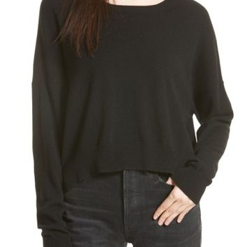 Vince Crop Cashmere Sweater | Nordstrom