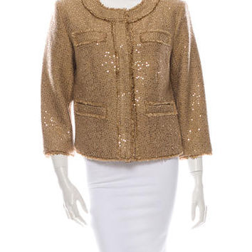 Michael by Michael Kors Sequin Jacket