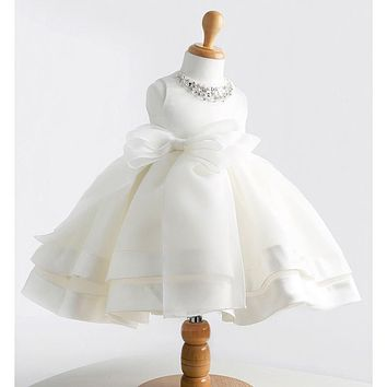 High Quality Baby Girl Dress Baptism Dress for Girl Infant 1 Year Birthday Dress for Newborn Girl Chirstening Dress for Infant
