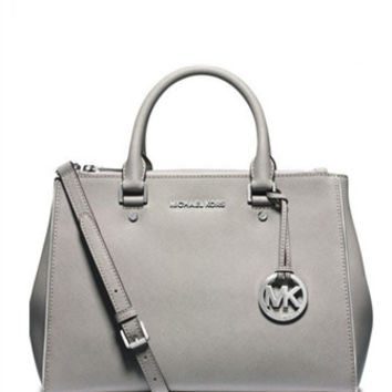 Michael Michael Kors Sutton Medium Saffiano Travel Satchel