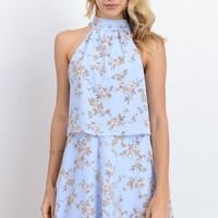 Shades of Spring Floral Dress