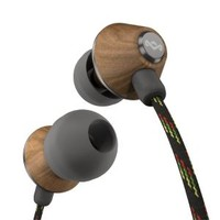 The House of Marley Marley Jammin in Ear People Get Ready Midnight with 3 Button Mic Headphones & Audio