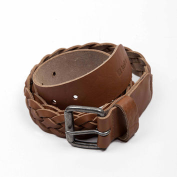 Kulte Leather Belt -Caramel