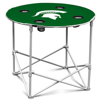 Michigan State Spartans NCAA Round Table (30in)