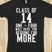 class of one four will have you begging for more