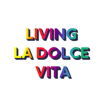 Living La Dolce Vita - Marina and the diamonds Art Print by Juliana Oliveira